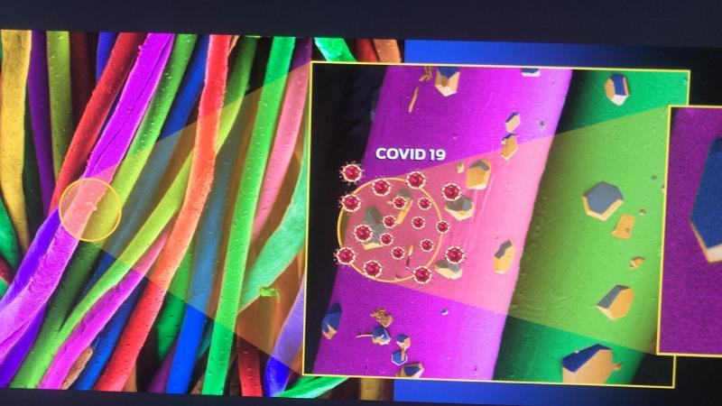 UFSCar e empresa de São Carlos desenvolvem tecido capaz de eliminar o coronavírus por contato