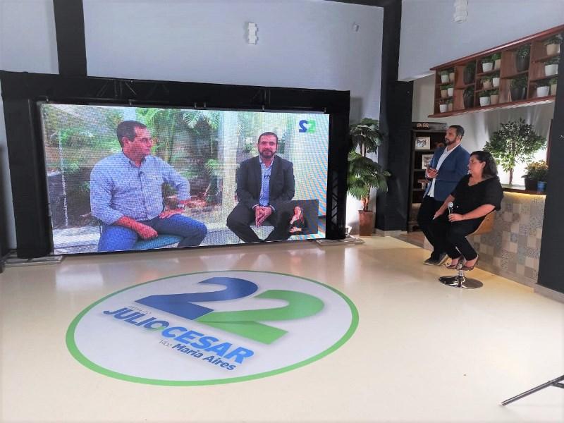 CEO da maior empresa de tratores do mundo participa da live de Julio Cesar