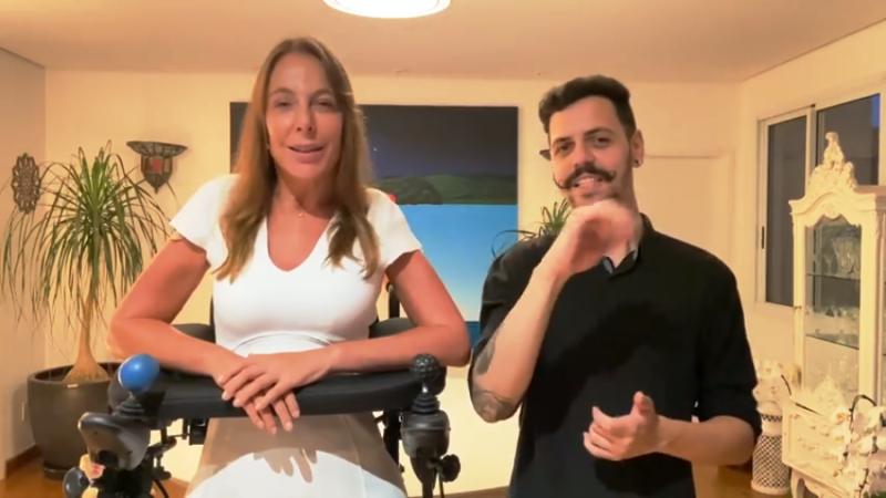 Dona Graça recebe apoio de Mara Gabrilli