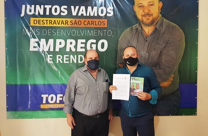 Deonir recebe carta com sugestões do Pesquisador Paulo Cruvinel