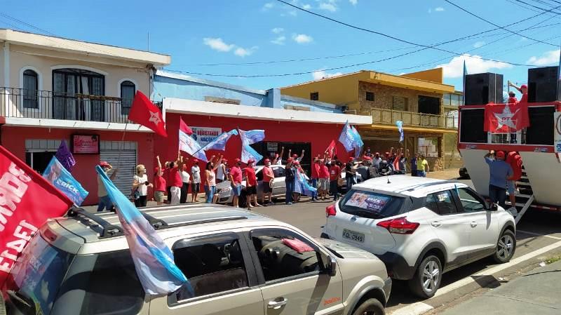 Erick Silva realiza grande carreata na região do Cidade Aracy