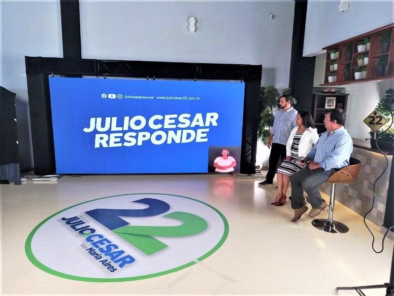 Segurança Pública é tema da live do Júlio Cesar