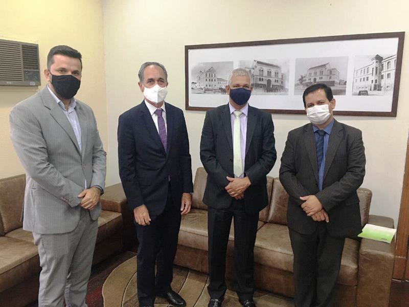 Juiz eleitoral visitou Câmara Municipal de São Carlos