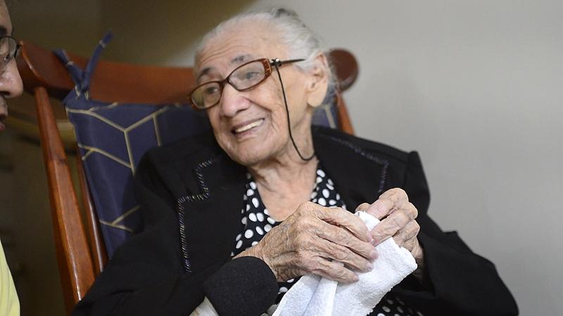 Os 105 anos de Cecília Ferreira dos Santos