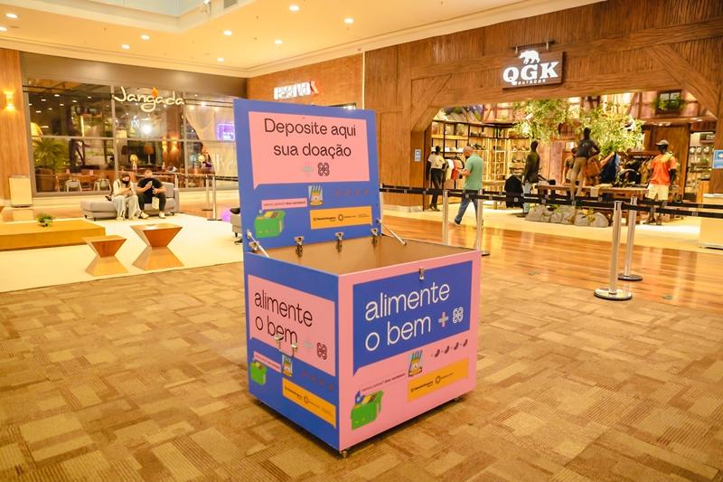RibeirãoShopping e ShoppingSantaÚrsula isentam estacionamento em troca de alimentos não perecíveis
