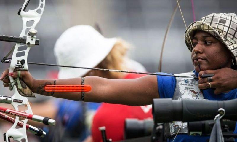 Carioca será única mulher do país no tiro com arco