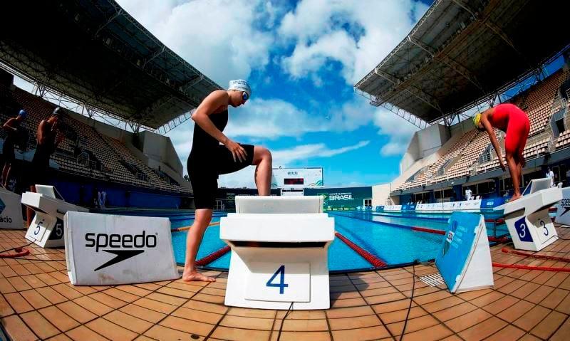 Quatro nadadores lutam por vagas em Tóquio