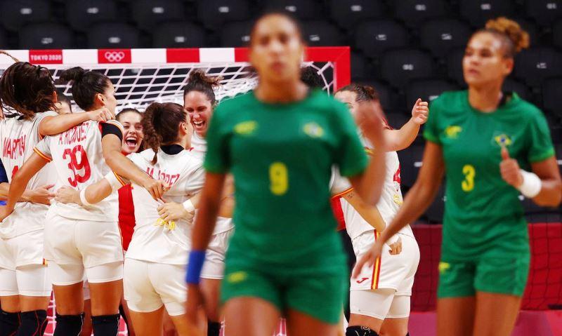 Seleção feminina perde para Espanha na Olimpíada