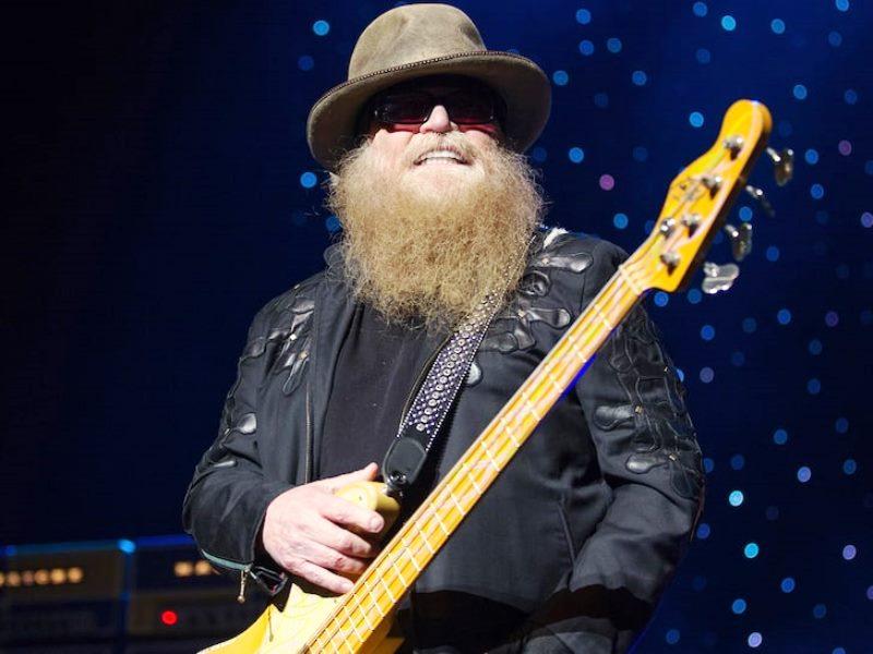 Morre Dusty Hill, baixista do ZZ Top
