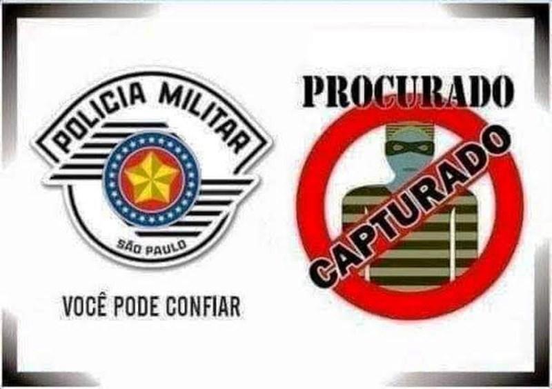 Procurado da Justiça é localizado e preso pela Polícia Militar