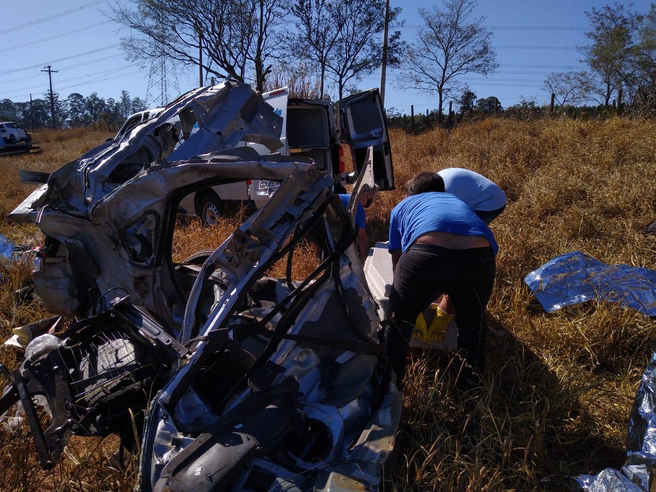 Marido, esposa e filho morreram no acidente