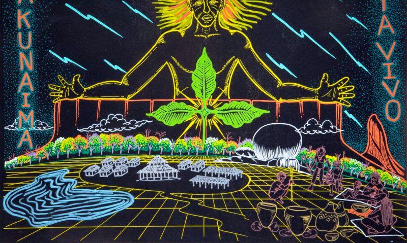 Exposição de arte indígena está em cartaz no MAM