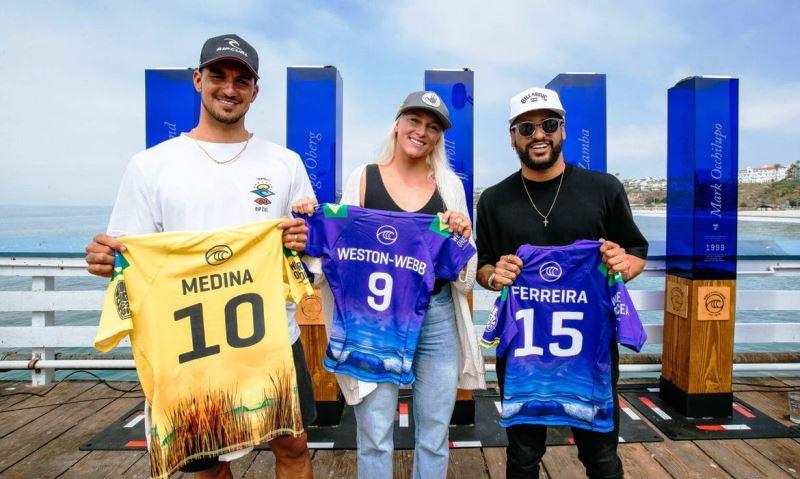 Janela de competições do WSL Finals começa com Brasil favorito