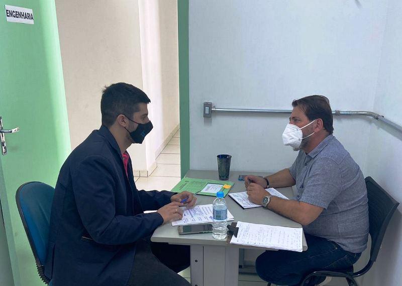 Bruno Zancheta se reúne com o secretário e cobra retorno de cirurgias eletivas