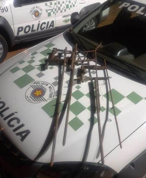 Dupla é autuada em R$ 2 mil por matar capivara na Vassununga