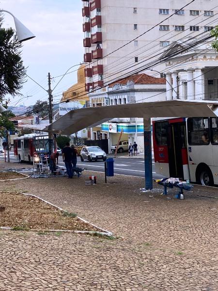Secretaria de Transporte e Trânsito inicia reforma de 145 abrigos