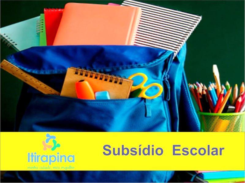 Prefeitura mantém pagamento de subsídio de transporte escolar