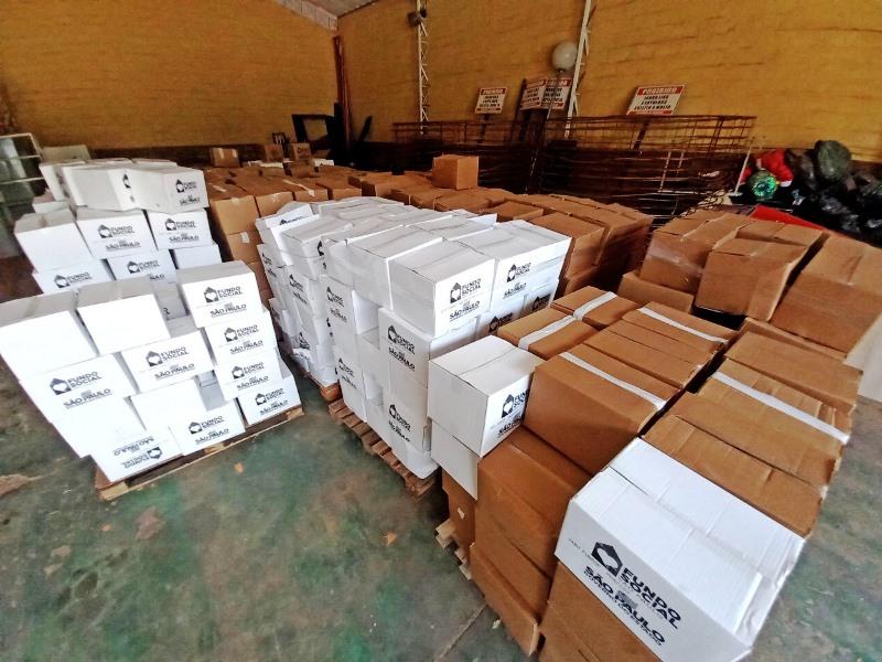 Fundo Social do Estado envia mais 852 cestas básicas para Prefeitura