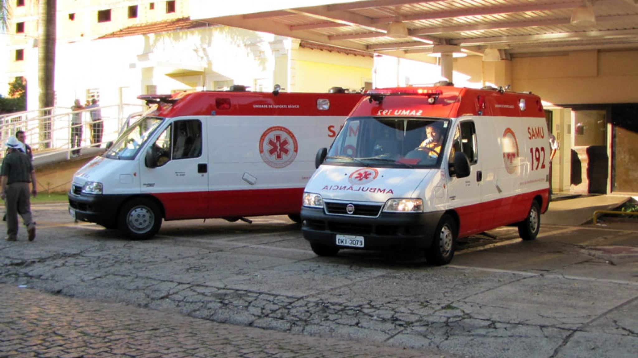 Região: vitima de acidente morre em hospital