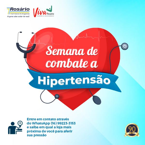 Semana de combate à hipertensão na Rosário