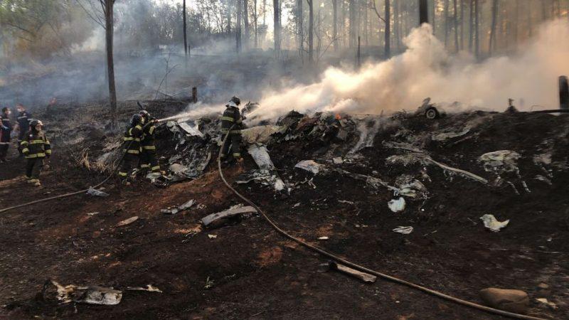VÍDEO: Avião cai em Piracicaba e deixa sete vítimas