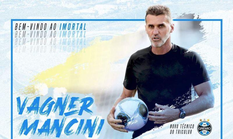Grêmio anuncia Wagner Mancini como novo treinador