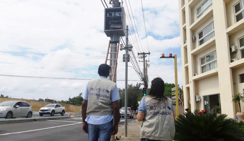 Ipem-SP faz verificação de radar em São Carlos