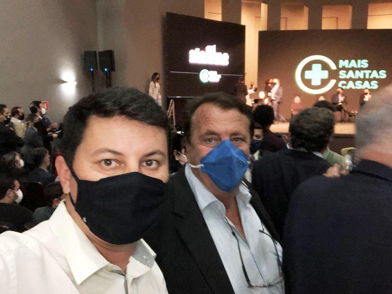 Prefeito participa de evento estadual que destinou recursos para Santa Casa