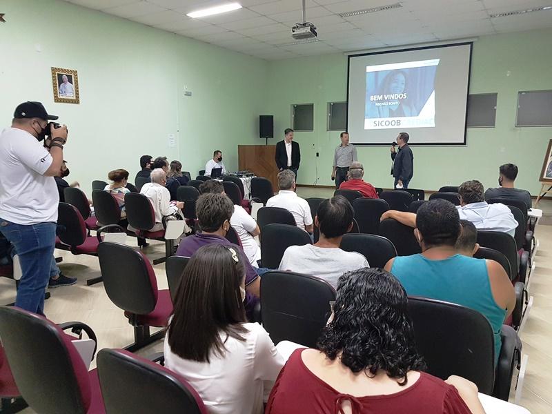 Sicoob Crediacisc fez palestra de sensibilização em Ribeirão Bonito