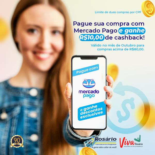 Farmácia Rosário faz parceira com Mercado Pago e traz benefícios no mês de Lançamento