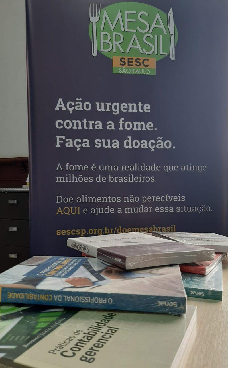 Ação Mesa Brasil de combate à fome ganha apoio do setor contábil