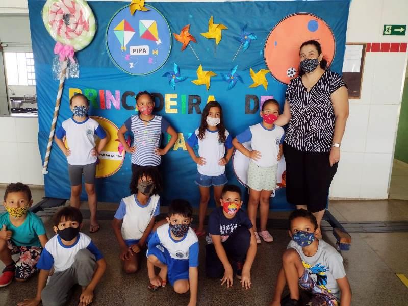 E.M. Profª Maria Luiza Batistela Danieli dedica semana em comemoração ao 'Dia das Crianças'